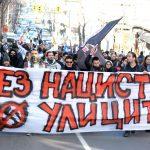 Balkanweit mobilisierte Antifa-Demo gegen den faschistischen Lukoff-Marsch 2018 in Sofia